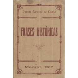 FRASES HISTÓRICAS