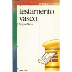 TESTAMENTO VASCO. Un ensayo de interpretación