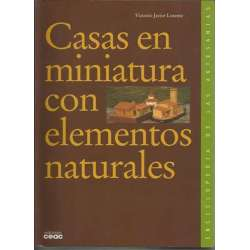 CASAS EN MINIATURA CON ELEMENTOS NATURALES