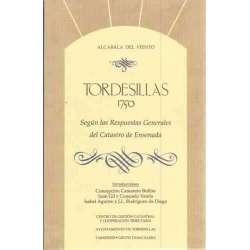 Tordesillas 1750 según las respuestas generales del Catastro de Ensenada
