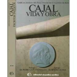 Cajal. 2 tomos  I.- Vida y obra. II.- Escritos inéditos